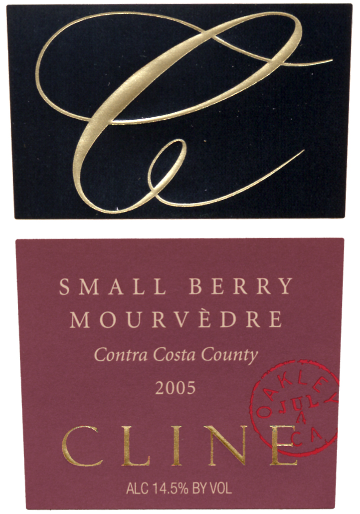 Cline_SmallBerry_Mourvedre_05_FrontLabel