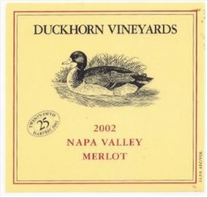 DuckhornMerlotLabel
